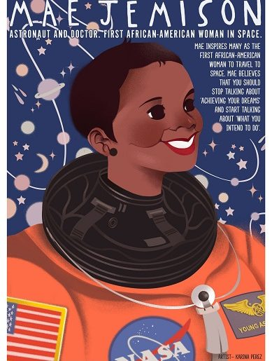 Mae Jemison Poster - A Mighty Girl
