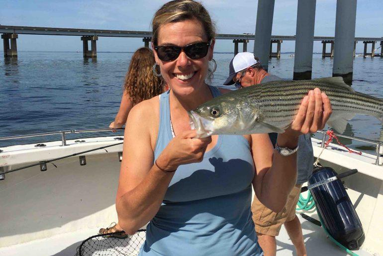 June Chartered Fishing Trip